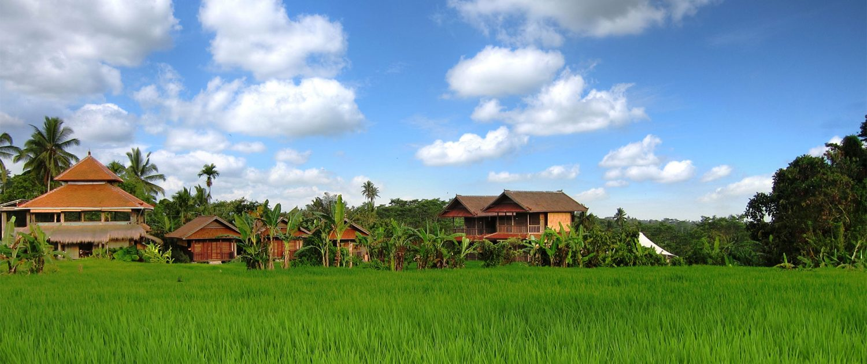 Bali Silent Retreat frontscape
