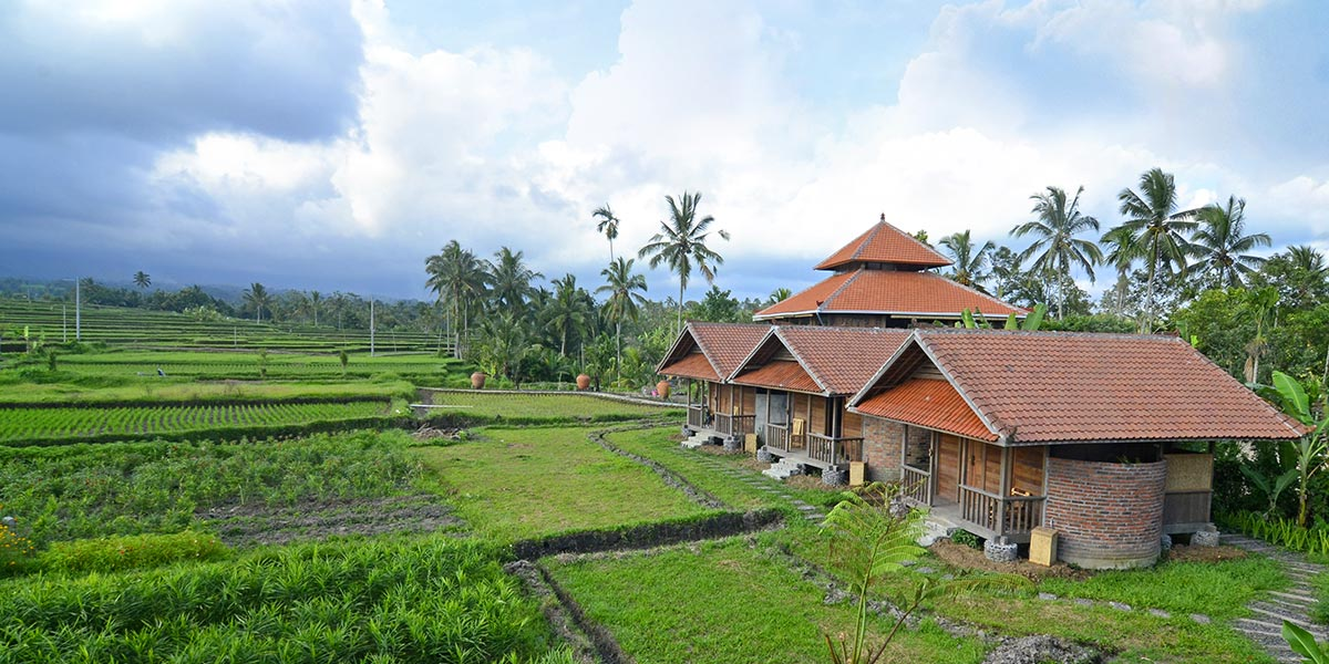Bali Silent Retreat Private Bungalow