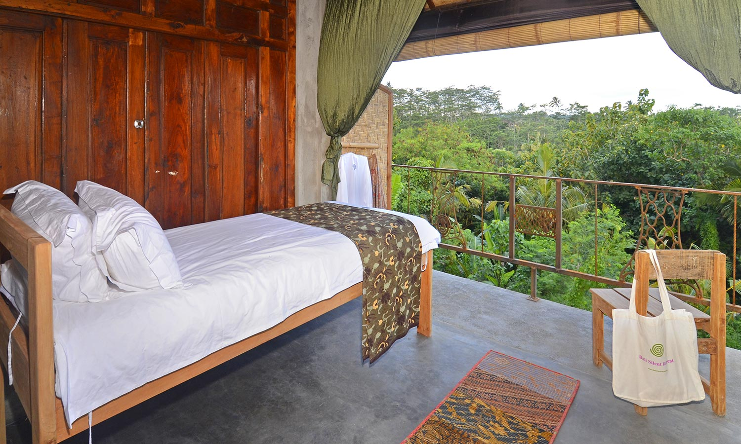 Bali Silent Retreat - Single room Upper level