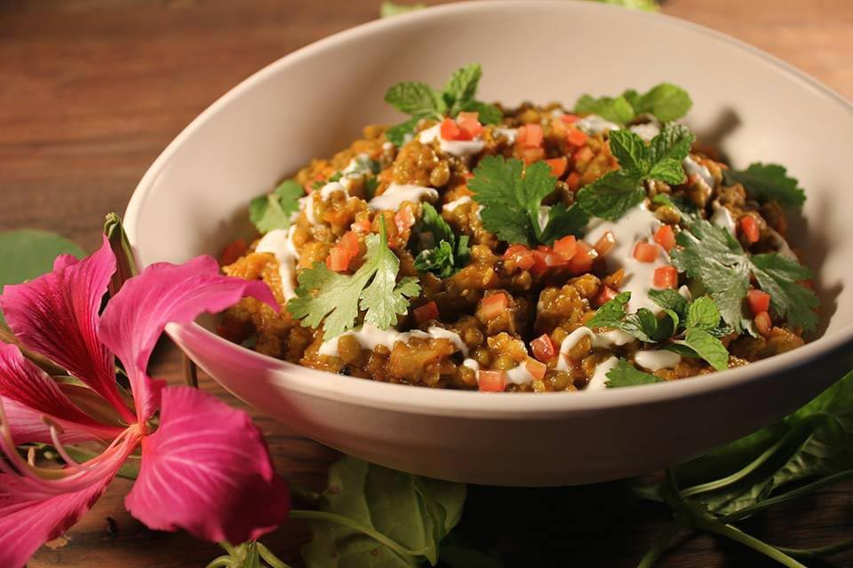 Bali Silent Retreat - food