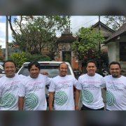 Bali Silent Retreat Transport crew