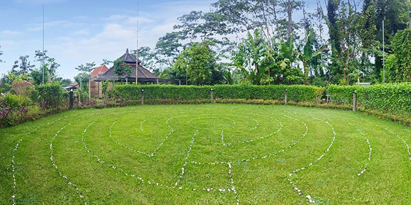 Bali Silent Retreat - Labyrinth