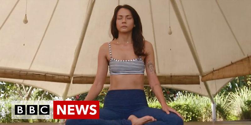 BBC News - Seeking a silent retreat from urban life