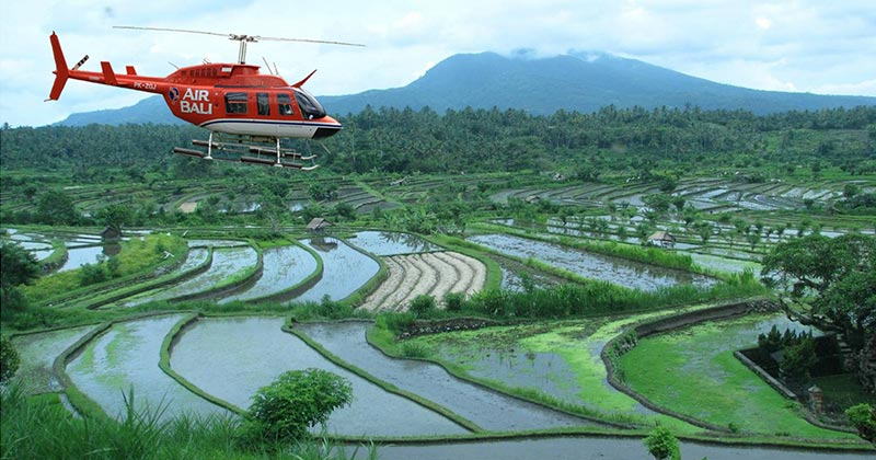 Air Bali Helicopter transport