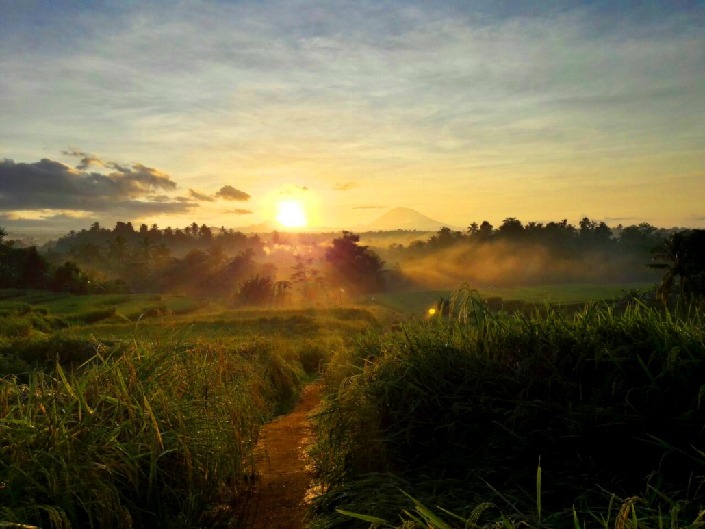 Sunrise Mount Agung